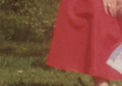 Cropped photograph from Mothers family album